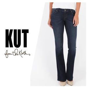 Kut from the Kloth Karen Baby Bootcut Jeans👖